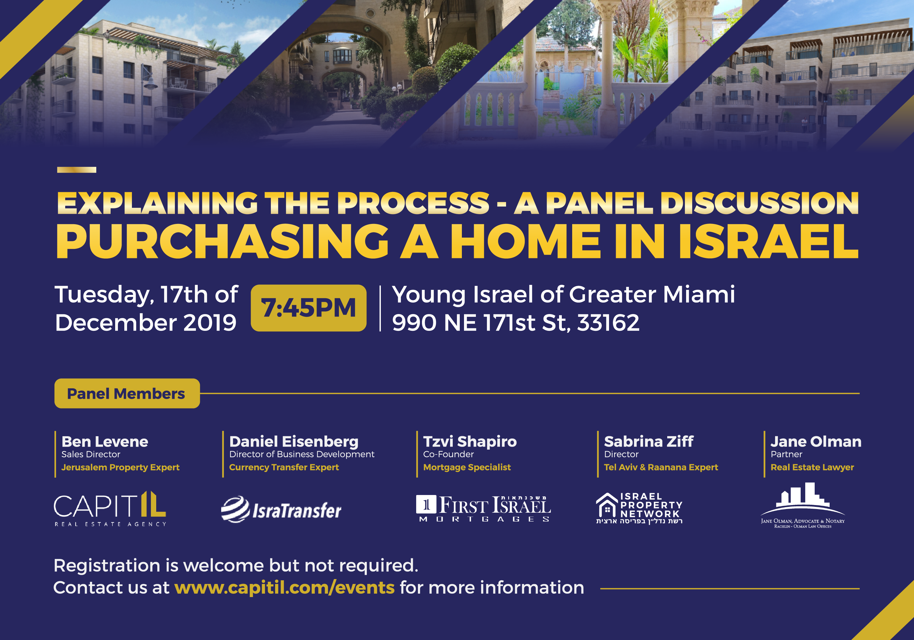 Young Israel of Greater Miami Tuesday 17th of December