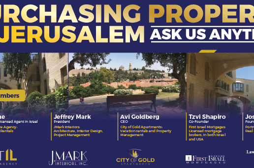 Purchasing Property in Jerusalem - Ask us Anything
