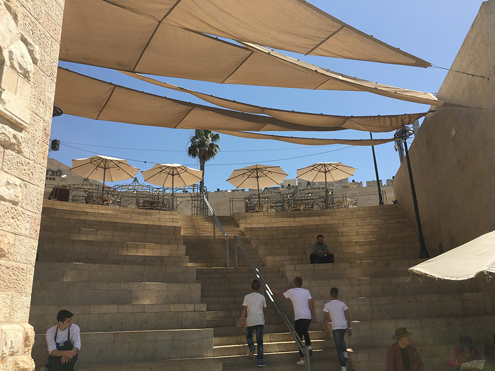 Amphitheatre at Mamilla Mall