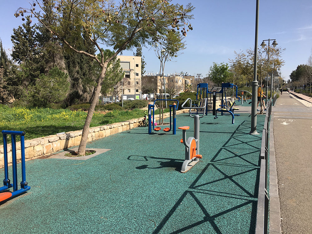 List of Public Outdoor Gym Equipment in Jerusalem
